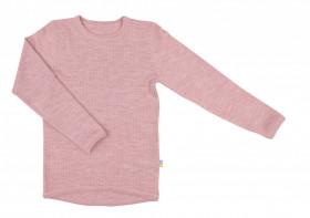 Bluză Joha lână merinos - Basic Pink