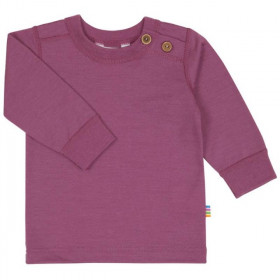 Bluza Joha lână merinos - Heavy Single Wool Berry