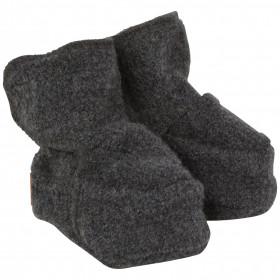 Botosei lână fiartă boiled wool Mikk-line - Grey Melange, marime 50/56