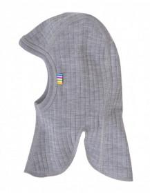 Cagulă dublată Joha lână merinos - Basic Grey