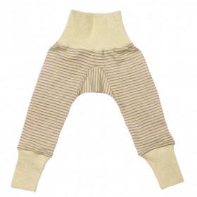 Cei mai comozi pantaloni din lână merinos si mătase, Cosilana - Green Plum