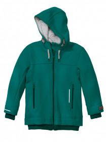 Jachetă din lână fiartă Disana - Pacific