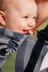 Marsupiu ergonomic LennyGo Toddler, Smoky Lime