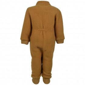 Overall-lana-merinos-fleece-Mikk-line-Golden-Brown