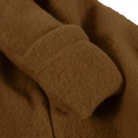 Overall lână merinos fleece Mikk-line- Rubber