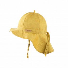 Pălărie ajustabilă Pure Pure din in - Mango