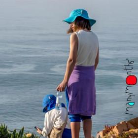 Palarie ManyMonths Traveller cânepă si bumbac organic - Aquarius