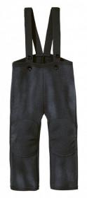 Pantaloni din lână fiartă Disana - Anthracite