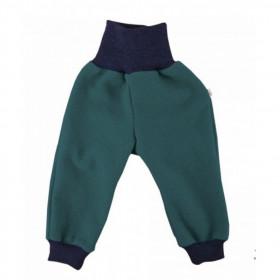 Pantaloni lână fiartă, Iobio - Emerald