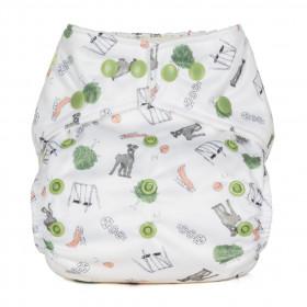 Scutec textil refolosibil cu buzunar Baba+Boo Outdoor Play
