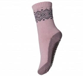 Sosete-papuci groase mp Denmark lână merinos - Bobbie Woodrose