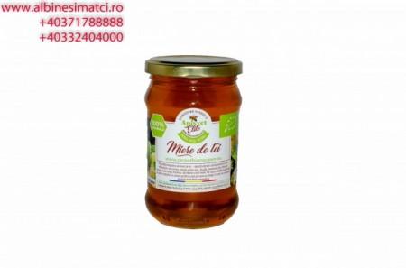 Poze Miere de Albine, naturala, direct de la producator, de tei, borcan 580 gr brut, net 380-400 gr