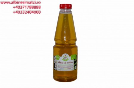 Poze Miere naturala de salcam imbuteliata la PET alimentar de 750 gr