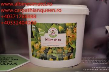 Miere de tei in galetuse noi de plastic alimentar de 14 kg=10 litri cu tot cu livrare oriunde in Romania