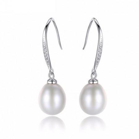 cercei argint perle Daniela