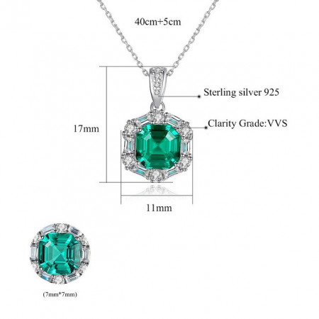 colier lady emerald
