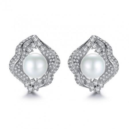 Cercei cu perle Isolda pt evenimente speciale
