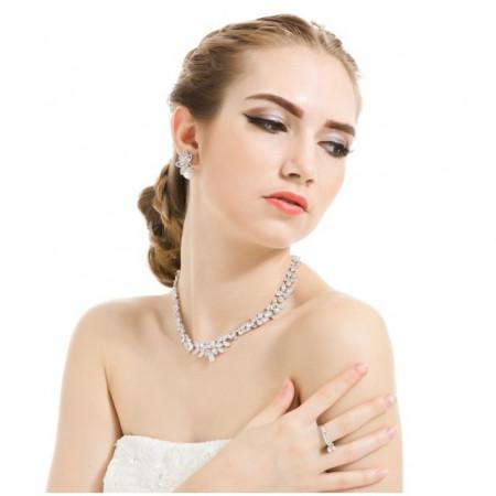 Cercei Lyris cu perle
