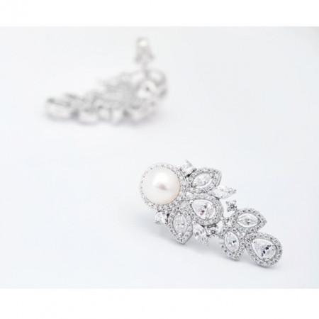 Cercei de seara cu perle Rosalind