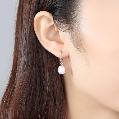 Cercei perle naturale Freya