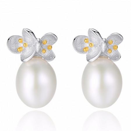 cercei perle naturale Loreen