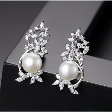 Cercei cu perle naturale J'Adore