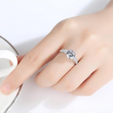 Inel argint Leona