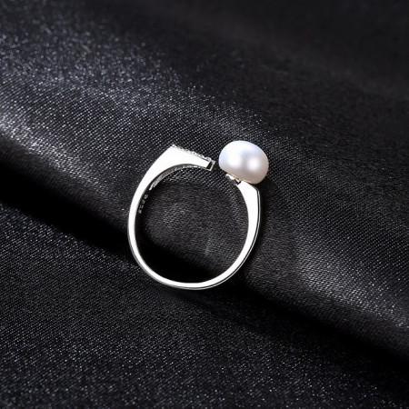 Inel perla naturala luiza