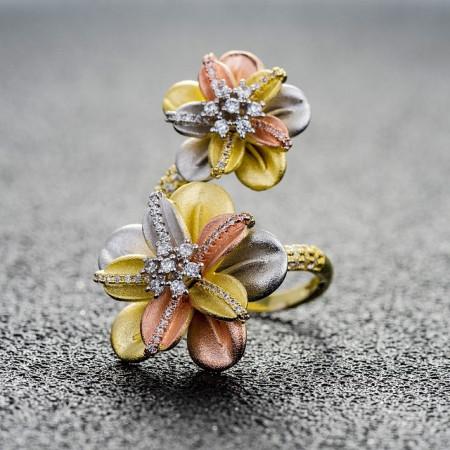 Inel Fleur D'Or