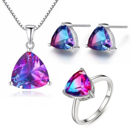set bijuterii argint Mystic