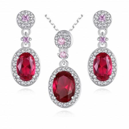 Set bijuterii argint Agnesa