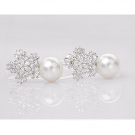 Cercei cu perle naturale Maitea Glam