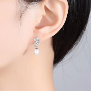 Cercei argint cu perle naturale Melissa