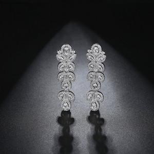 Cercei candelabru cristale Precious
