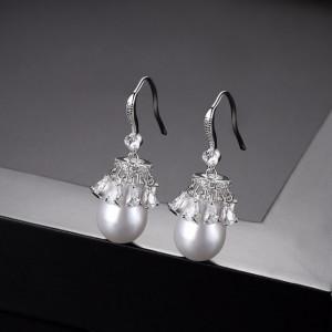 cercei eleganti cu perle