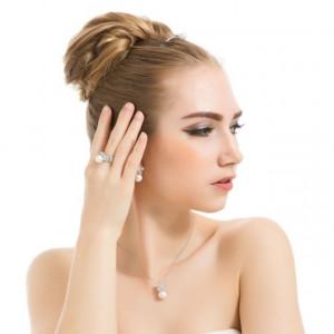Colier perla naturala Maitea Glam