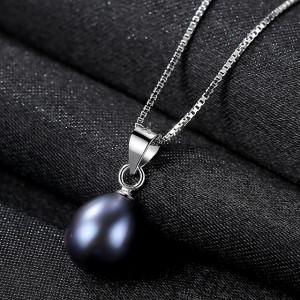 bijuterii perle negre
