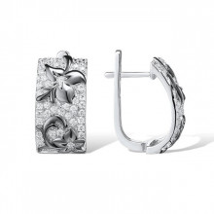Cercei de argint Solange