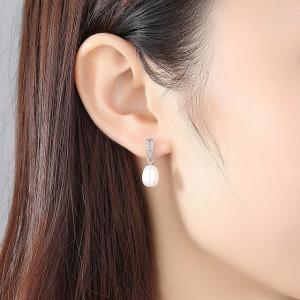 Cercei perle naturale Elsie