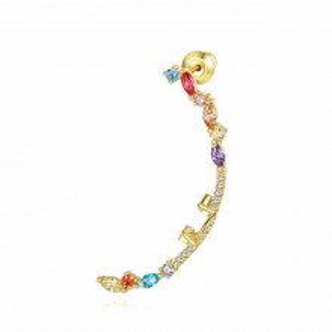 Cercel ear cuff multicolori Arina
