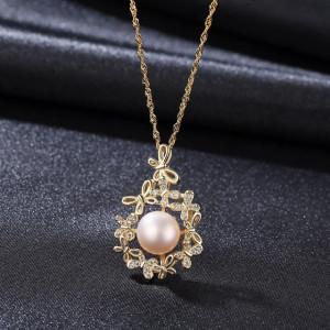 colier perle naturale