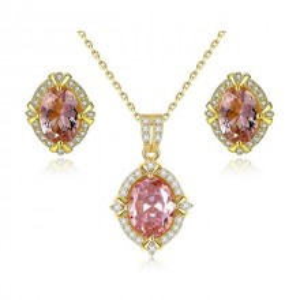 Set argint dama roz Hypnose