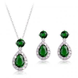 Set de bijuterii Elisia Emerald