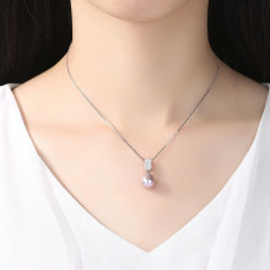 Set perle naturale mov Merida