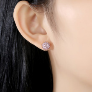 cercei roz AG925