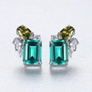 Cercei verzi eleganti