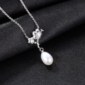 colier argint perla