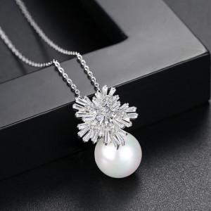 Colier elegant cu perla Emelia