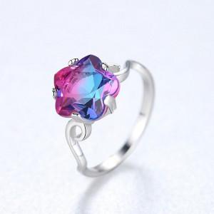 Inel argint Mystic Flower