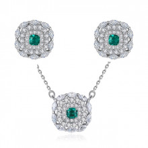 Set bijuterii argint Milania